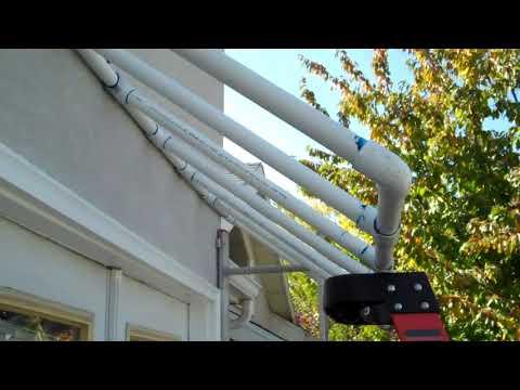 DIY Plastic PVC Awning Project