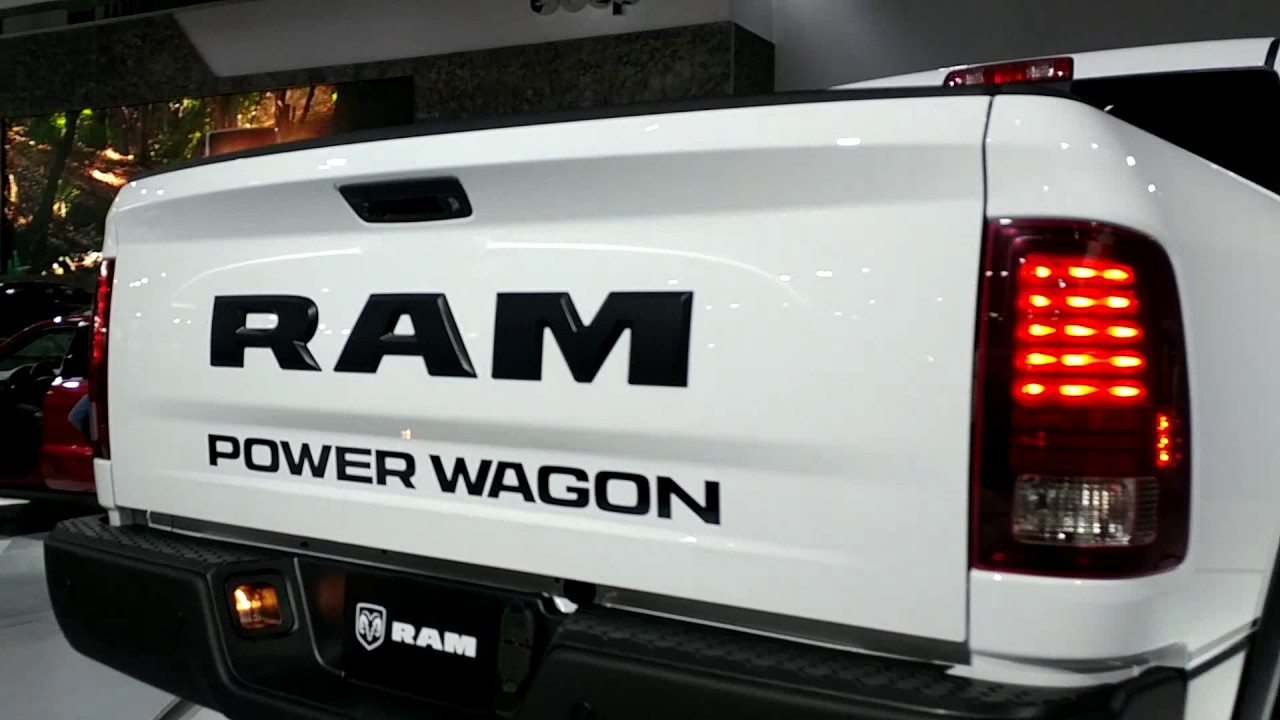 2018 RAM 2500 POWER WAGON!!!! - YouTube
