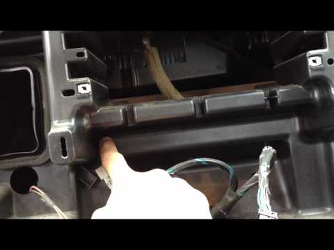 Dodge Ram Double DIN Install Dash Kit