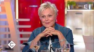 Muriel Robin au dîner - C à Vous - 26/10/2017