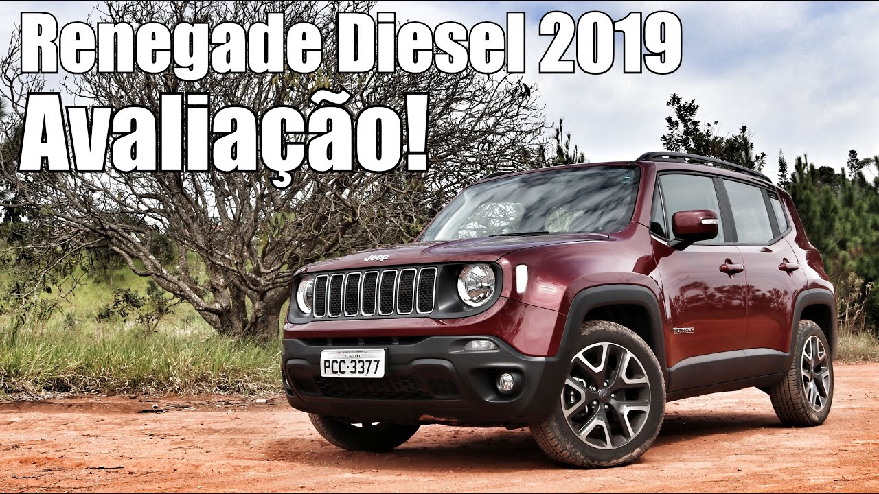 Jeep Renegade Longitude Diesel 2019 Falando De Carro Youtube