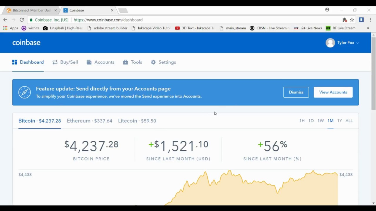 How to buy bitcoin in coinbase and find your refferal link youtube how to buy bitcoin in coinbase and find your refferal link ccuart Choice Image