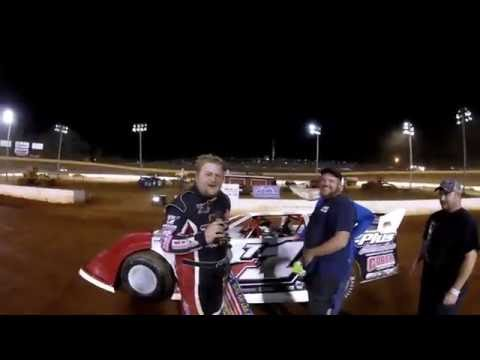 #t1 Todd Morrow - Win interview - 9-2-16 - Crossville Speedway
