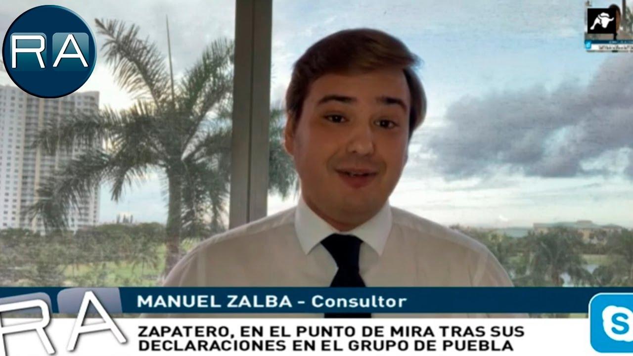 Manuel Zalba desvela en primicia que Irene Montero es miembro desde el sábado del Grupo de Puebla