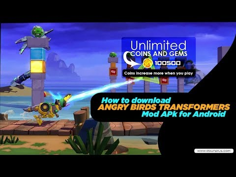 Free Download Angry Birds Transformers Mod Apk OBB For Android 2019