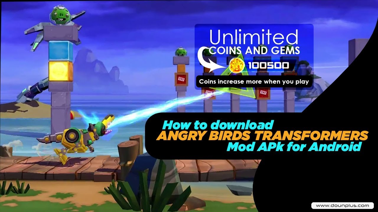 Free Download Angry Birds Transformers Mod Apk OBB for Android ...