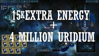 Darkorbit 15k Extra Energy | 4 Million Uridium | Kappa Gate | Hercules Bug? #1
