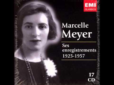 Ravel: Valses nobles et sentimentales - Marcelle Meyer (1954)