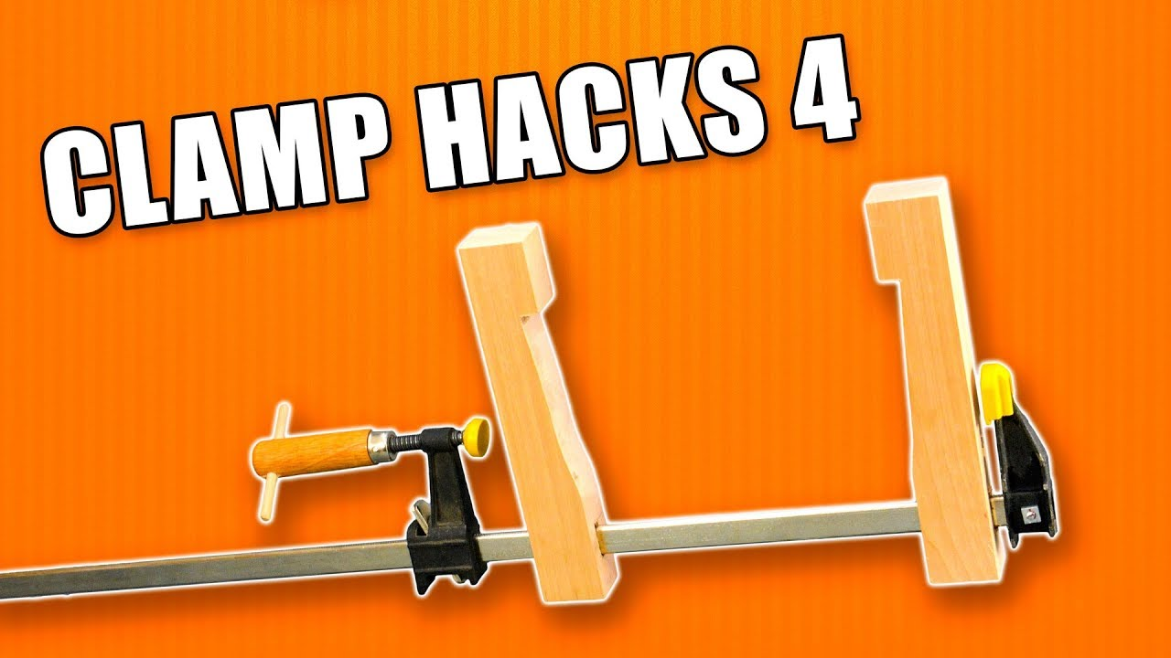 5 life hacks for clamps: part 4 / woodworking tips and tricks