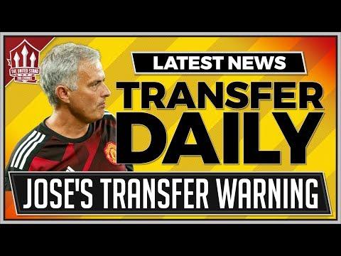 Mourinho Confirms Man Utd Transfer! Man Utd Transfer News Latest