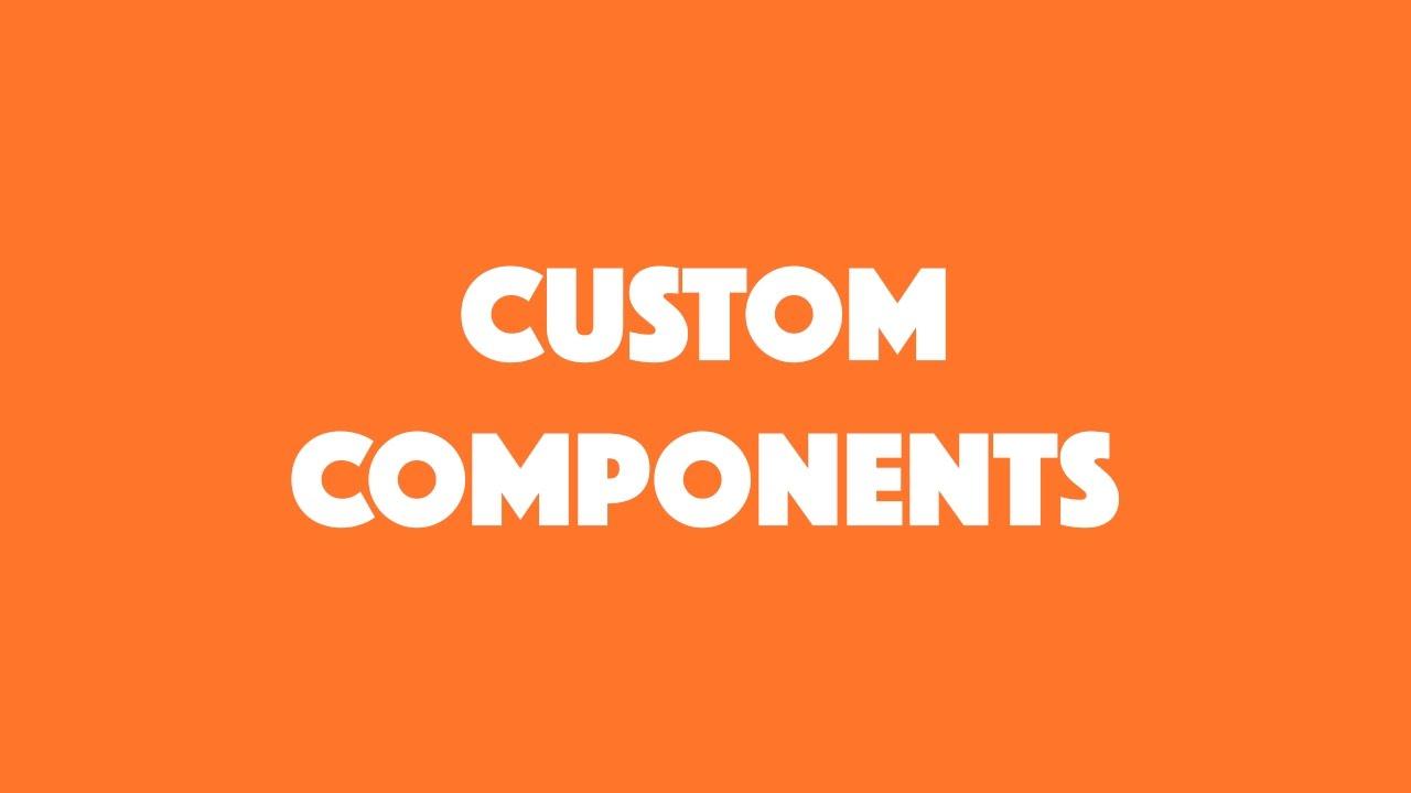 Custom Components in Ionic 2 | joshmorony - Learn Ionic & Build