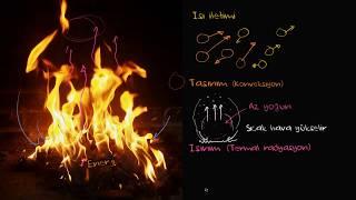 İletim, Işıma ve Konveksiyon Yollarıyla Isının Yayılması (Fen Bilimleri) (Fizik)