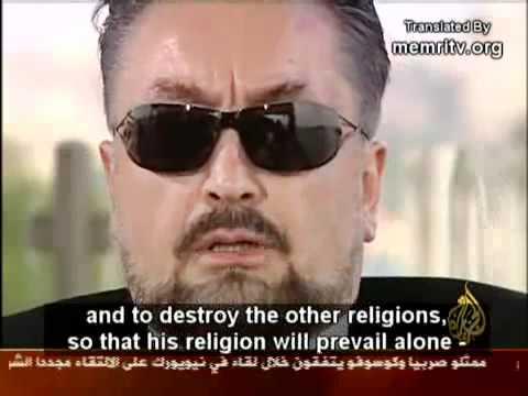 Islamic Creationist Harun Yahya/Adnan Oktar Interview