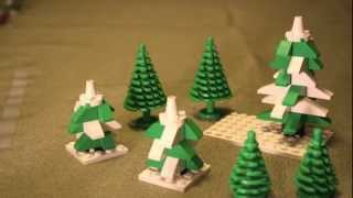 Building A Lego Christmas Village