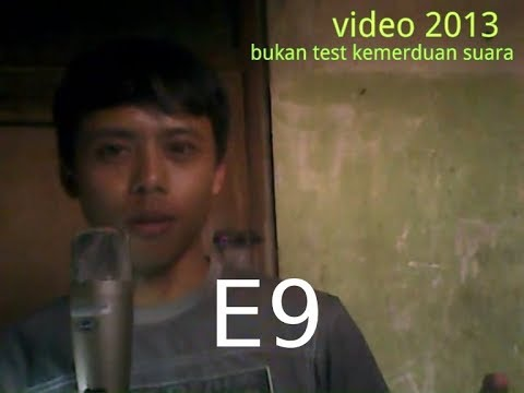 9 Octave Live (E0-E9) Highest/widest Octave In The World_ No Perfect_nada Tertinggi Di Indonesia