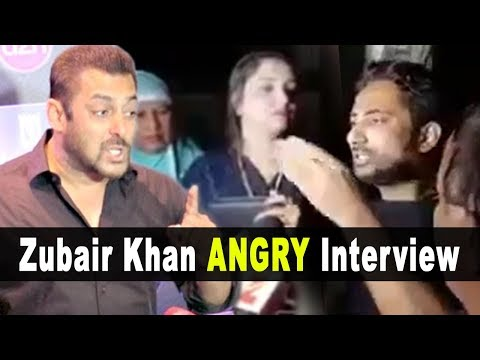 Zubair Khan INSLUTING Salman Khan - Full Interview