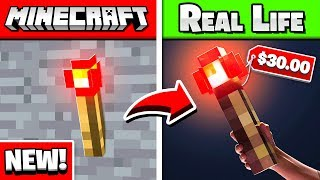 5 Items In Minecraft That Are In REAL LIFE!
