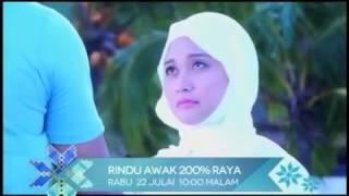 Promo Rindu Awak 200% Raya (22/7/2015)