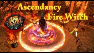 Path Exile Ascendancy Fire Witch Build