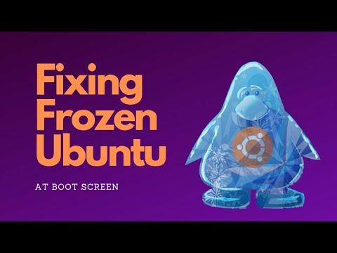 Solved] Ubuntu Freezing at Boot Screen [Screenshot Guide]