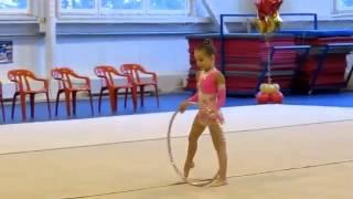 Художественная гимнастика Маркова Алина 2006 г р  ОБРУЧ(, 2013-08-15T21:12:02.000Z)