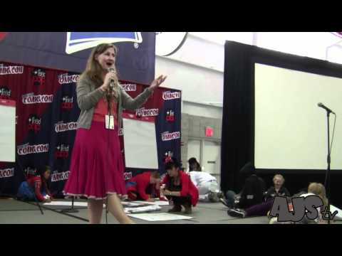 New York Comic Con 2011 : Veronica Taylor and Misato Rocks