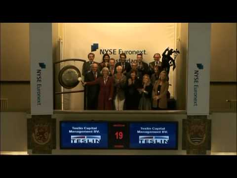 19 October 2011 Teslin Capital Management BV opens Amsterdam trading day