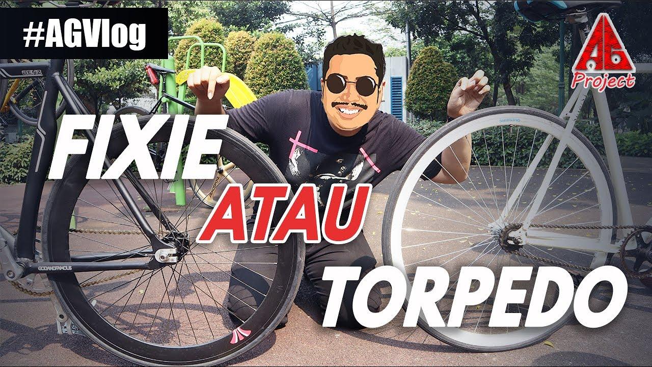Perbedaan Sepeda Fixie Dan Torpedo Youtube