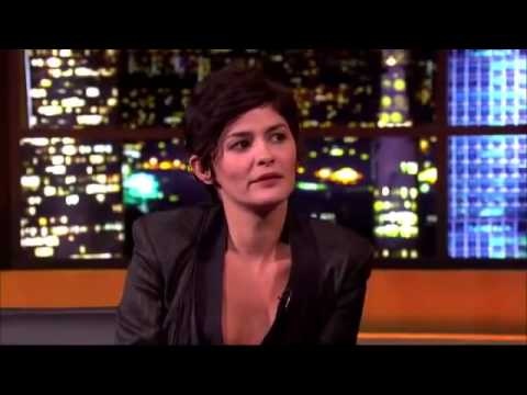 Audrey Tautou On The Jonathan Ross Show Full Interview (6-4-13).