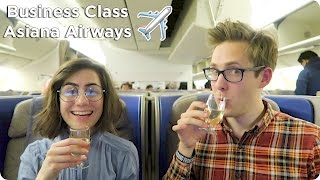 Business Class Flight Asiana Airways London to Seoul to Tokyo! Evan Edinger Travel