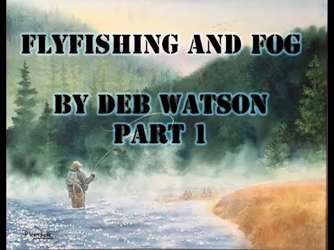 Watercolor Landscape Painting Tutorial - Flyfishing And Fog Part 1 - Step By Step By Deb Watson