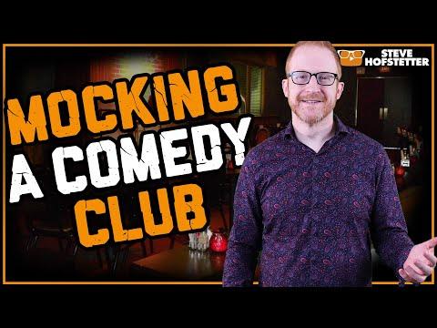 Comedian taunts comedy club  Steve Hofstetter