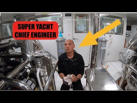 Luxury Super Yacht Chief Engineer -  Pre Departure Checks (C