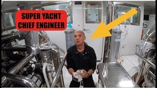Luxury Super Yacht Chief Engineer -  Pre Departure Checks (Captain's Vlog 74)