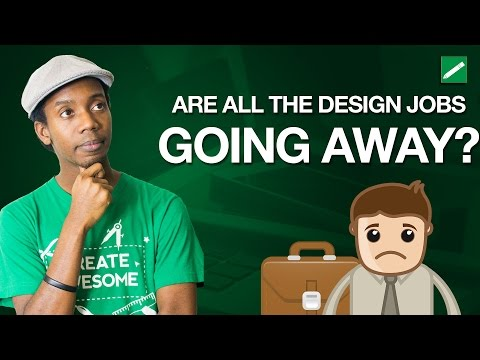 Are Graphic Design Jobs Going Away? | Becoming a Graphic Designer