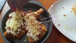 Clasic Italian Mozzarella Parmesan Chicken