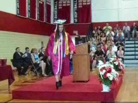 Athol High School Graduation class of 2016 pt 2 (Athol,MA)