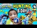 Skylanders Swap Force Hunting: Mike's Legendary Birthday Party Edition (pt. 4) Night Shift Surprise