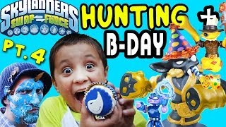 Skylanders Swap Force Hunting: Mike