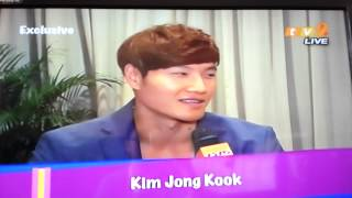 Kim Jong Kook exclusive interview with tv2 in Malaysia