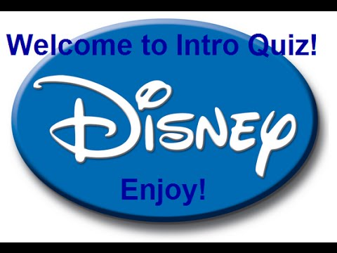 Music Intro Quiz 33 Disney Youtube