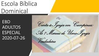 EBD 26/07/2020 - Especial ADULTOS
