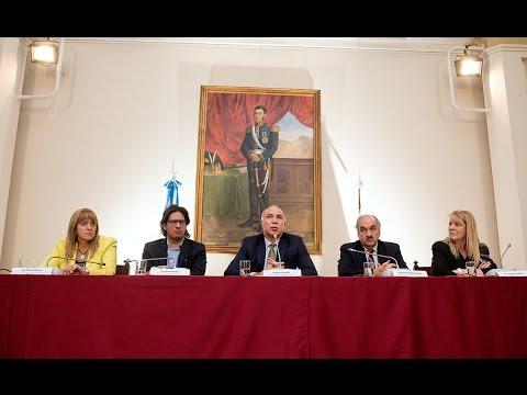Lorenzetti participó de una conferencia sobre crímenes complejos y la Corte Penal Internacional