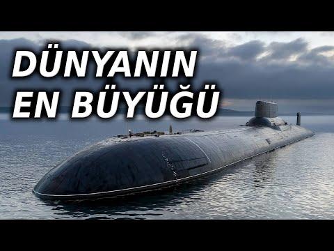 Dünyanın En Büyük Denizaltısı Akula / Typhoon Sınıfını Tanıyalım