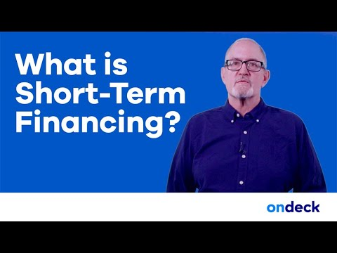 Short-Term Business Financing - An In-Depth Exploration | OnDeck Capital