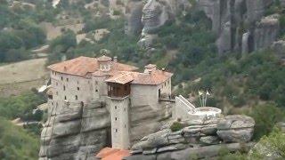 СП. Метеоры/Греция(Единственный в своем роде монастырь на отвесных скалах в Метеорах. После святого Афона - второй по значимос..., 2016-05-01T10:14:25.000Z)