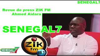 Revue de presse Wolof Zik-fm du vendredi 19 aout 2019 avec  Mame Mbaye Ndiaye