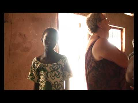 Anne Grethes skolebørn i Gambia