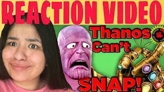Film Theory: Thanos Was WRONG... He CAN'T Snap! (Avengers Infinity War) REACTION!