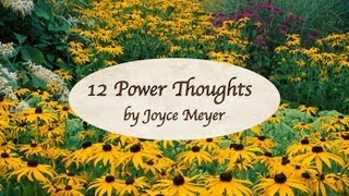 12 Power Thoughts by Joyce Meyer